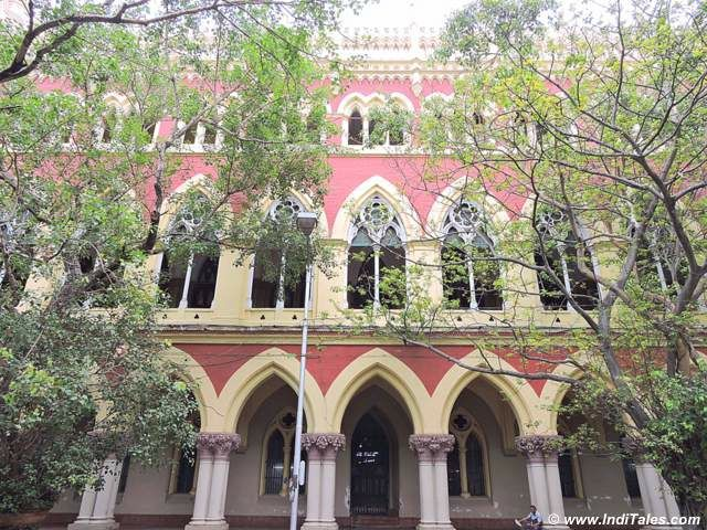 Calcutta Heritage Walk - Red Buildings