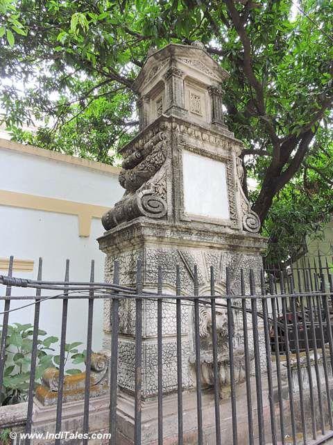 Fountain opposite Calcutta High Court