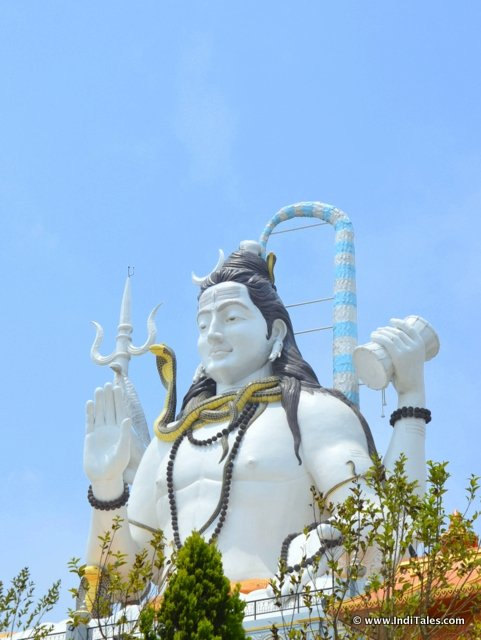 Lord Shiva Statue at Chardham, Namchi