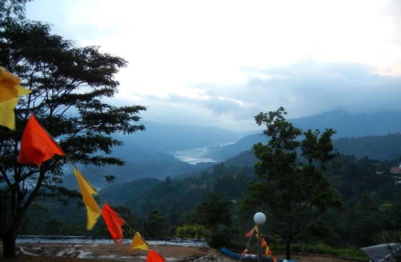View from Bhakta Hanuman Temple, Ramboda