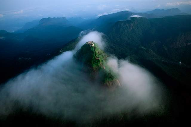 Adam's Peak or Sri Pada, Sri Lanka