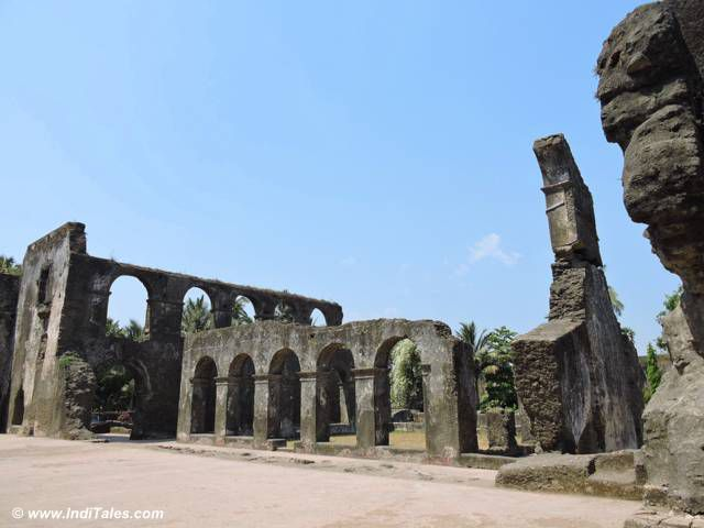 Ruins of Dominican Monastery, Daman