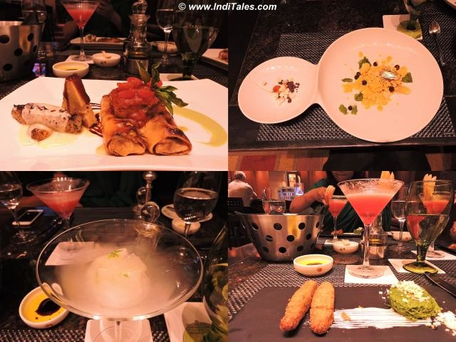 Molecular Cooking at West View Bar & Gill , ITC Sonar, Kolkata
