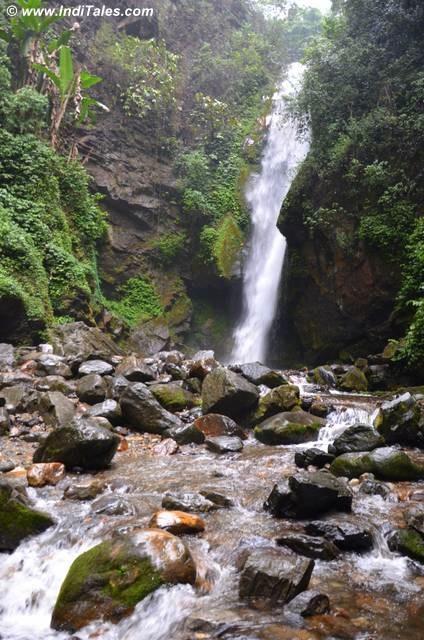 Kanchenjunga Waterfalls Main stream, a perennial falls, Pelling