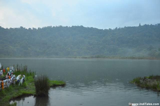 Khecheopalri lake at dusk Pelling