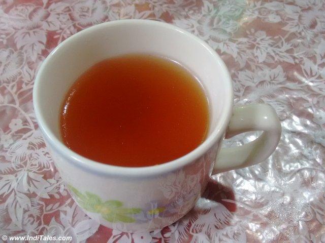Black Tea at Pelling