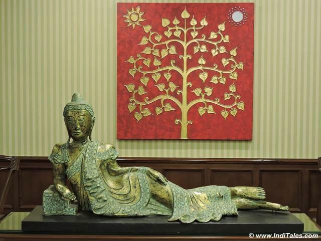 Artifact at library at Mayfair Gangtok