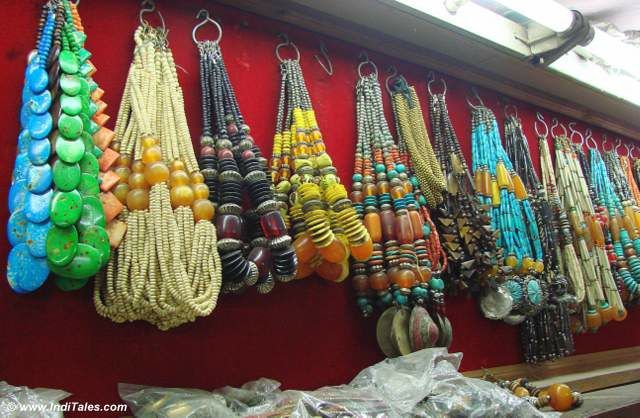 Fashion Jewelry in Old Delhi Bazaars