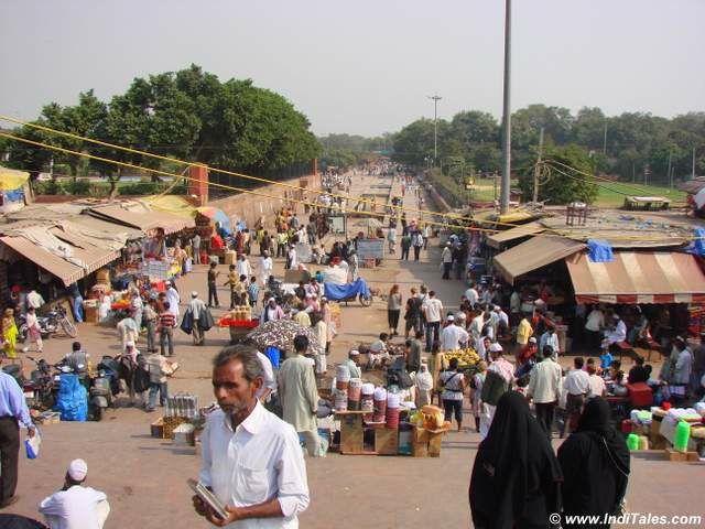 Mina Bazaar - famous Old Delhi Bazaar