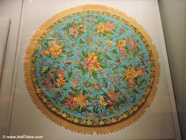 Beaded Tablecloth at Peranakan Museum, Singapore