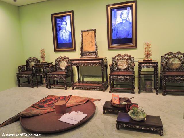 Wood Carved Peranakan Furniture