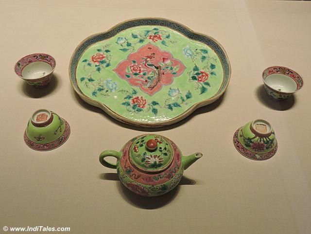 Colorful Peranakan Porcelain