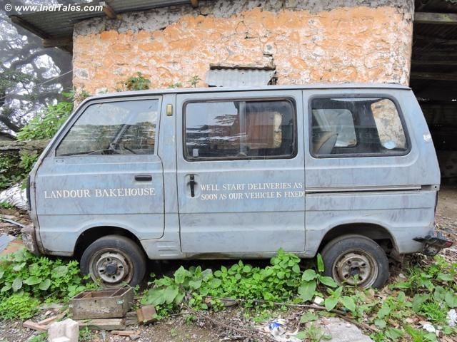Delivery Van at Landour Bakehouse