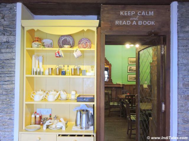 Library Enterance at Emily, Rokeby Manor, Landour