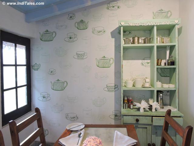 Tea Wall at Rokeby Manor