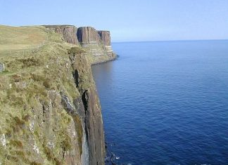 Cliffs at Isle of Skye