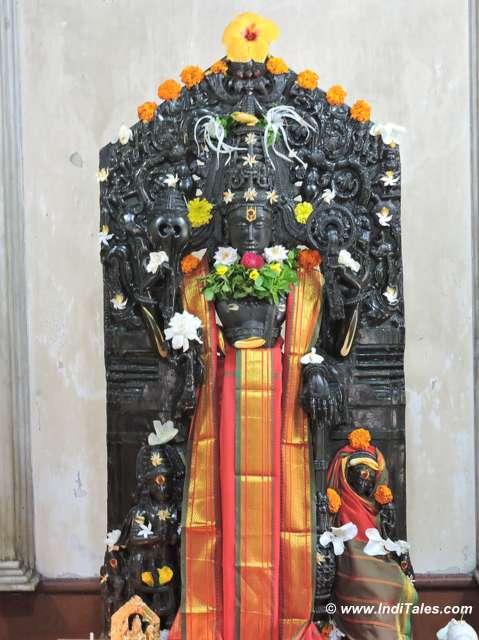 Ancient idol of Lakshmi Keshav