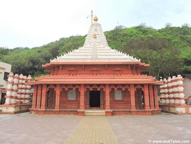 Side view of Ganpati temple at Ganpatipule