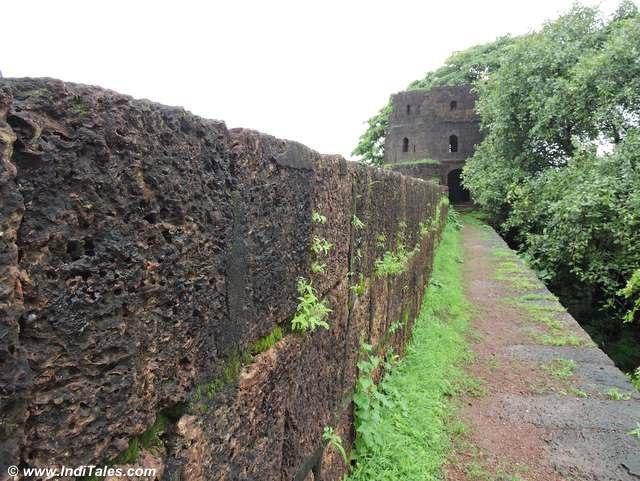 Walls & Bastions of Jaigad Fort