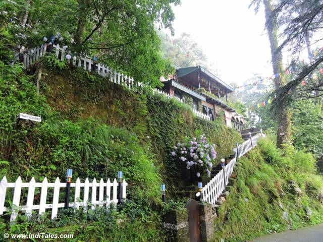 Lovely hillside house at Landour
