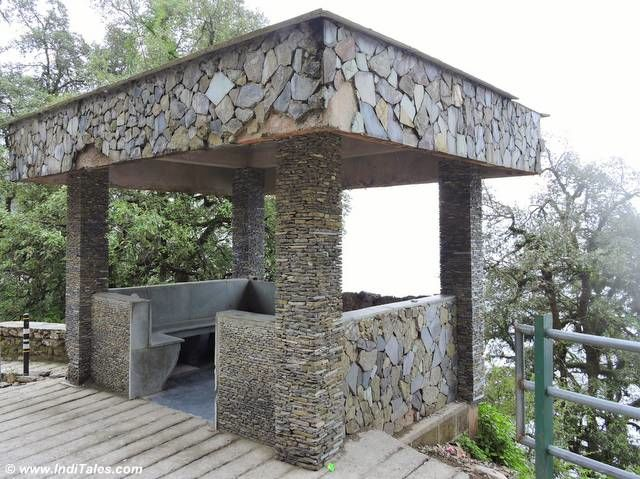 Rain Shelters in Stone