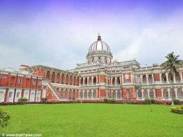 Cooch Behar Palace from the backside