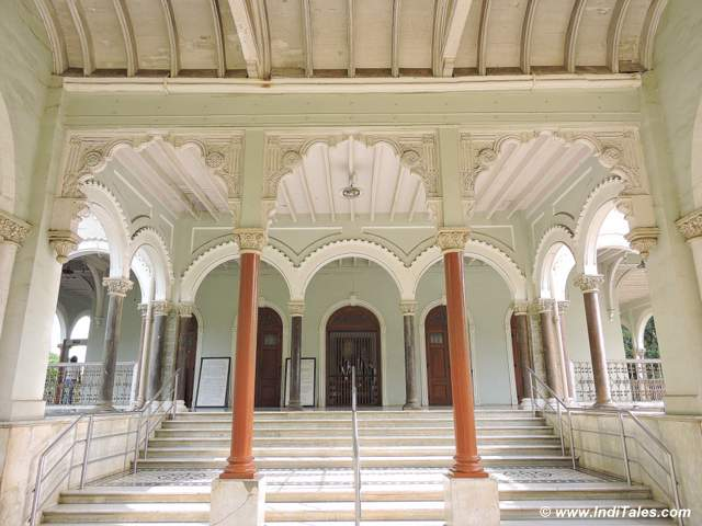 Interior view of Aga Khan Palace