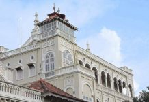 Back side of Aga Khan Palace