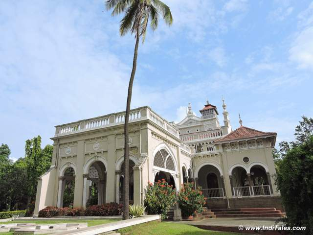 Front View of Aga Khan Palace