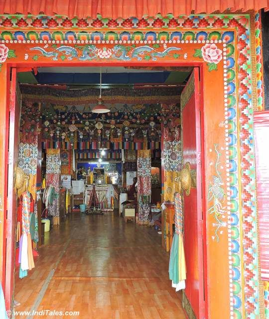 Inside Key Monastery