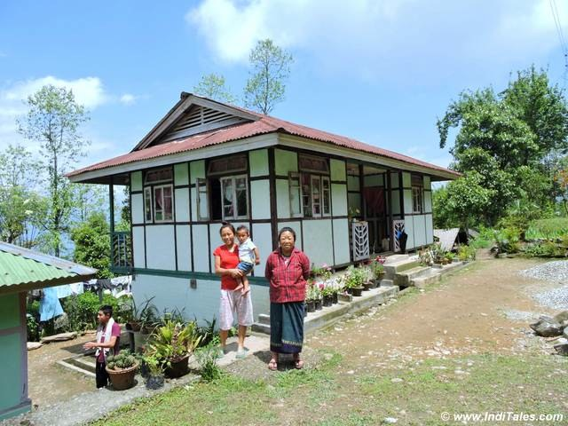 House in the Orchid belt of Rinchenpong