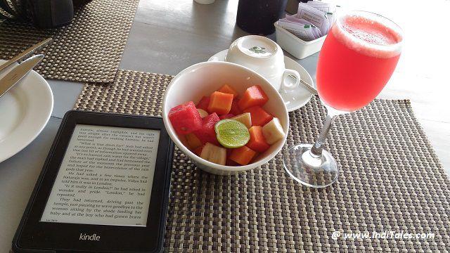 Kindle - my travel companion