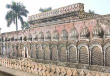 Walls of Gulab Bari at Faizabad