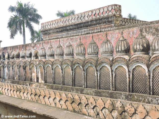 Walls of Gulab Bari at Faizabad