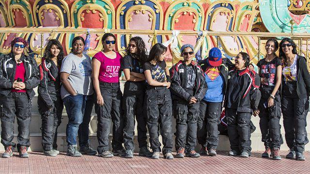 11 gutsy girls...