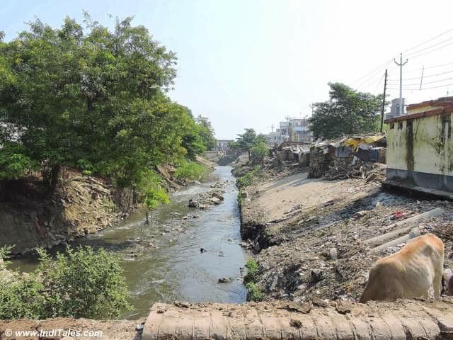 River Assi at Varanasi