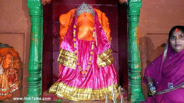 Panch Kroshi Jaun Vinayak Temple near Adi Keshav Ghat