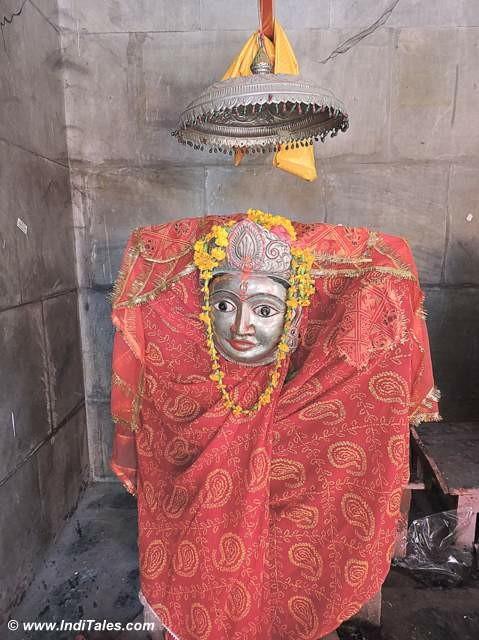 Tulja Bhawani at Rameshwar Padav of Panch Kroshi