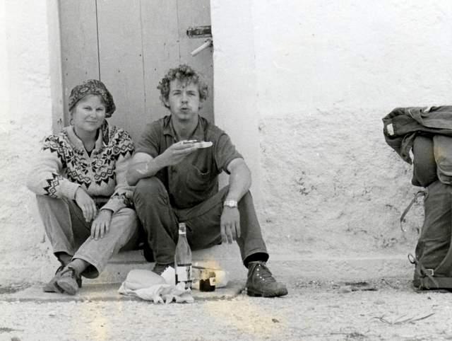 Barbara Miller Elegbede in her young Hippie days...