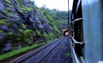 Konkan Railway at Dusk