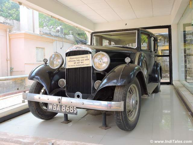 Car of Rabindranath Tagore