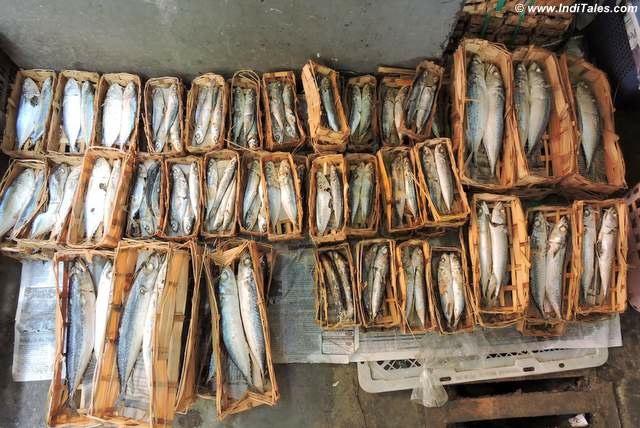 Fish packets at Kota Gede Market, Jogja