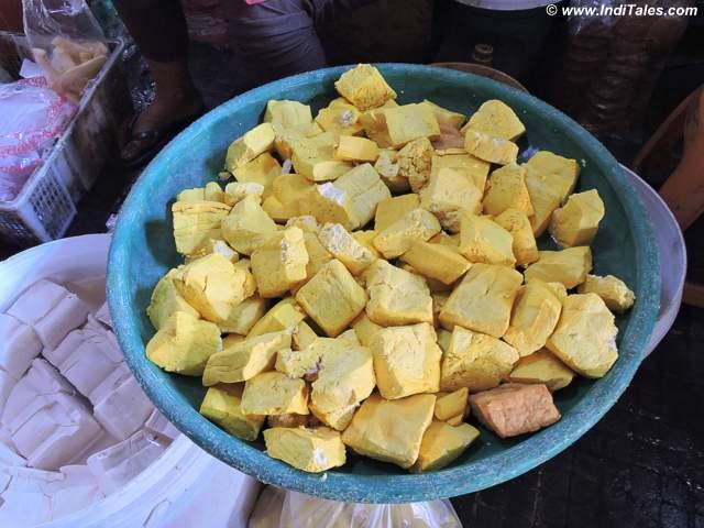 A basketful of Tofu, Kota Gede Yogyakarta