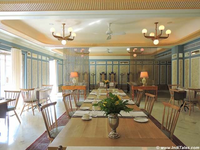 Elegant P&C Restaurant at Narendra Bhawan, Bikaner