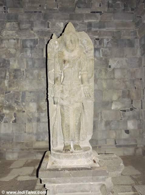 Vishnu Idol at Vishnu temple, Prambanan