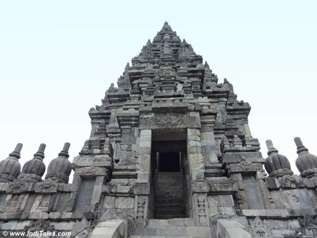 Vishnu Temple at Prambanan Temple Complex