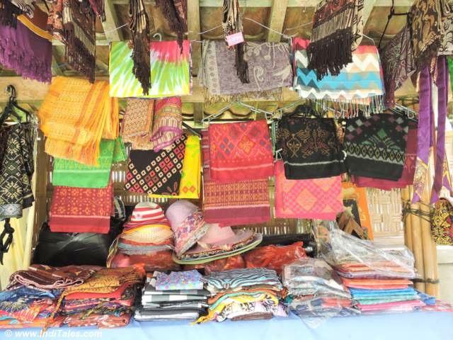 Colorful Bali Sarongs