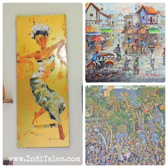 Different types of Balinese Paintings