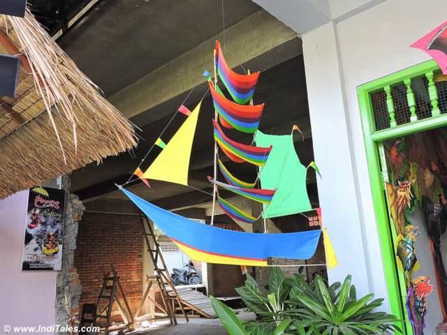 Bali Ship Shaped Kites