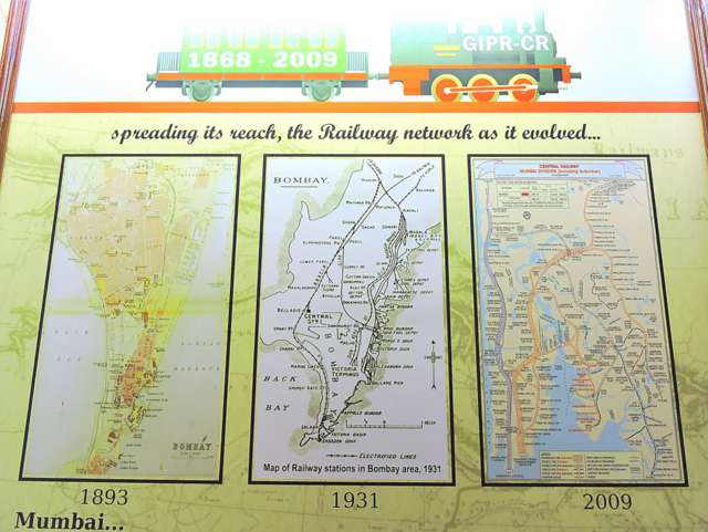 Mumbai Railway Maps at Heritage Museum